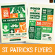 St. Patrick's Day Flyers / Table Tents - GraphicRiver Item for Sale