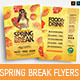 Spring Break Flyers - GraphicRiver Item for Sale