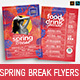 Spring Break Flyer Templates - GraphicRiver Item for Sale