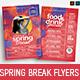 Spring Break Flyer Templates - GraphicRiver Item for Sale