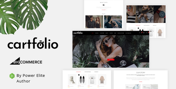 Cartfolio - Multipurpose Stencil BigCommerce Theme