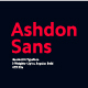 Ashdon Sans Serif Font - GraphicRiver Item for Sale