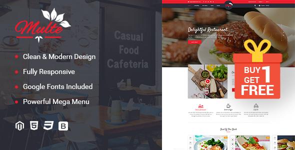 Multe - Responsive Magento 2 Restaurant Theme - Shopping Magento