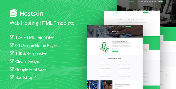 Html Website Host Website Templates From Themeforest