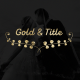 Gold Wedding Titles - VideoHive Item for Sale