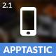Apptastic | PhoneGap & Cordova Mobile App - CodeCanyon Item for Sale