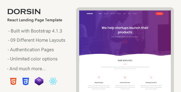 1 product landing page