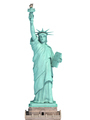Statue of Liberty in New York City, USA  isolated on white. - PhotoDune Item for Sale
