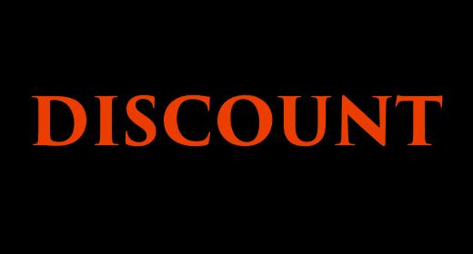 DISCOUNT 50%