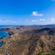 Aerial panoramic view wild coastline near Calhet  in Santiago - - PhotoDune Item for Sale