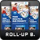 Pharmacy Medical Care Roll-Up Banner - GraphicRiver Item for Sale
