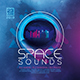 Space Sounds Party Flyer - GraphicRiver Item for Sale