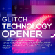 Technology Glitch Opener - VideoHive Item for Sale