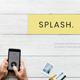 Splash - Photography Keynote Template - GraphicRiver Item for Sale