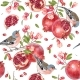 Vector Seamless Pattern with Birds on Pomegranate - GraphicRiver Item for Sale