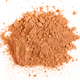 top view of handful of cocoa powder isolated - PhotoDune Item for Sale