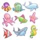 Underwater Animals - GraphicRiver Item for Sale