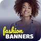 Fashion Facebook and Instagram Banner Set - GraphicRiver Item for Sale