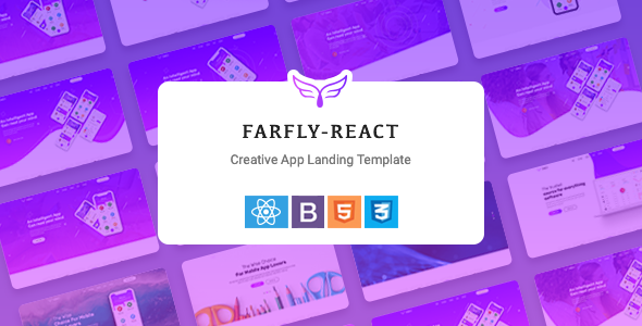 Exceptional Farfly - Creative App Landing React Template