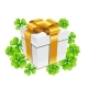 Saint Patricks Day Illustration of Gift Box - GraphicRiver Item for Sale