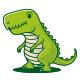 Dino Kid Mascot Logo - GraphicRiver Item for Sale