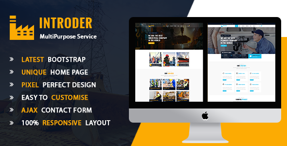 Introder - Multipurpose HTMl5 Template - Corporate Site Templates