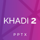 Khadi 2 Powerpoint Template - GraphicRiver Item for Sale
