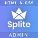 Splite – Responsive Bootstrap4 Admin Dashboard Template