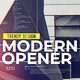 Modern Opener - VideoHive Item for Sale