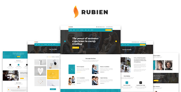 Rubien - Business And Corporate Bootstrap 4 Template