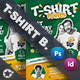 T-Shirt Print Bundle Templates - GraphicRiver Item for Sale