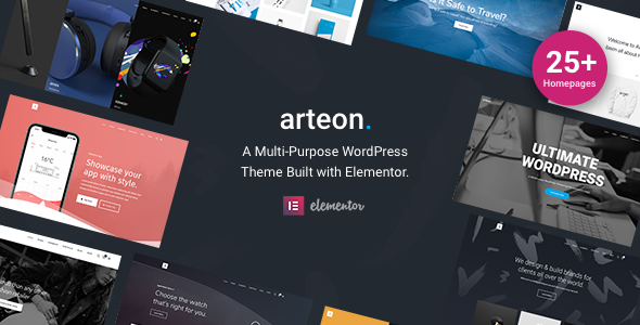 Arteon — Multi-Purpose WordPress Theme - Creative WordPress