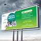 Social Media Marketing Billboard - GraphicRiver Item for Sale