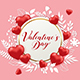 Banner with Hearts and Paper Flowers - GraphicRiver Item for Sale
