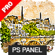 Aquarelleum - Urban Sketcher Photoshop Plugin - GraphicRiver Item for Sale