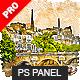 Aquarelleum - Urban Sketcher Photoshop Plugin