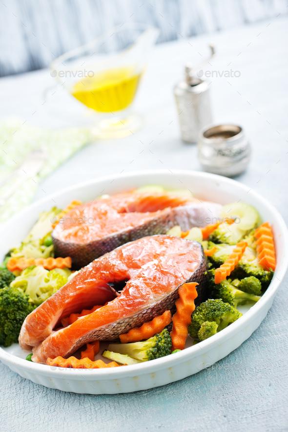 salmon - Stock Photo - Images