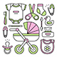 Set of Baby Things - GraphicRiver Item for Sale