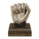Kingston Hand Fist Decor Sculpture - 3DOcean Item for Sale