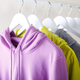 Sports clothes hanging on a rack - PhotoDune Item for Sale