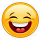 Laughing with Closed Eyes Emoticon - GraphicRiver Item for Sale