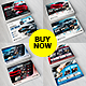 Car Wash Flyer 4 in 1 Bundle - GraphicRiver Item for Sale