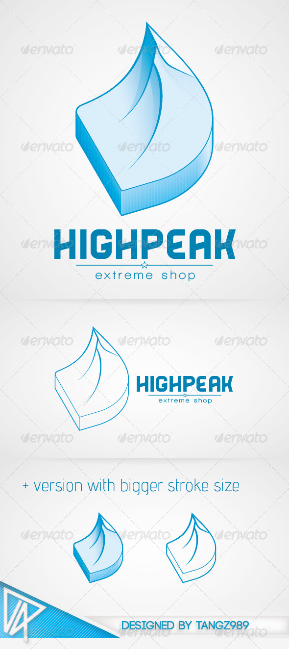 Highpeak Logo - Nature Logo Templates