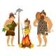 Cartoon Cavemen Family - GraphicRiver Item for Sale