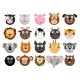 Animal Emoticons Set - GraphicRiver Item for Sale