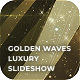 Golden Waves Luxury Slideshow - VideoHive Item for Sale