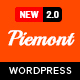 Piemont - Premium Responsive WordPress Blog Theme - ThemeForest Item for Sale