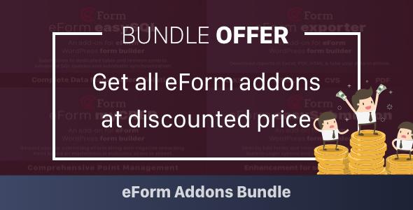 Add-on Bundle for eForm WordPress Form Builder - CodeCanyon Item for Sale
