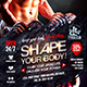 Fitness Club Promo Flyer - GraphicRiver Item for Sale
