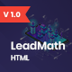 LeadMath - Lead Generation HTML Landing Page Template - ThemeForest Item for Sale